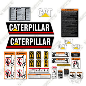 Caterpillar GC45K Decal Kit Forklift Safety - With Warning Stickers (GC 45K)