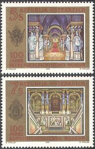 Austria 1991 Museums/Art/Military/History/Heritage/Buildings 2v set (n42681)