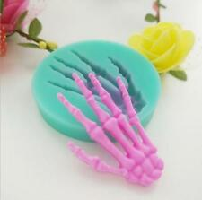 Skull Hand Halloween Silicone Mold Fondant Cake Decorating Tools Chocolate Candy