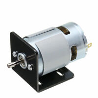 775 Motor With Mounting Bracket DC 12V 10000rpm Double Ball Bearings 150W Set