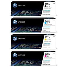 HP Genuine 202A Set CF500A CF501A CF502A CF503A For LASERJET PRO M254 M280 M281