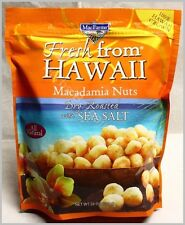 MacFarms Macadamia Nuts Dry Roasted with Sea Salt 24Oz Sealed bag 09/2021