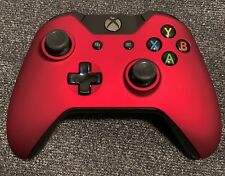 Red Soft Touch OEM Genuine Microsoft Xbox One Wireless Controller