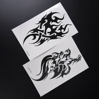 Removable Waterproof Temporary Tattoo Body Art Stickers Totem YearningArm FLA