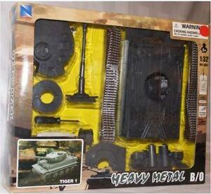 NEW RAY CARRO ARMATO KIT DA COSTRUIRE T80 TIGER 1 KING TIGER KING ELETTRONICO