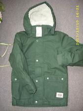 Khaki Parka/Winterjacke H&M Gr.134 NEU!!