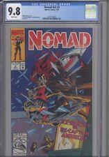 1992 Nomad v2 #3 Mark McKenna & S. Clarke Hawbaker cover CGC 9.8: New Frame