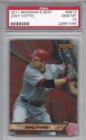 2011 Bowman's Be baseball card #BB12 Joey Votto, Cincinnati Reds PSA 10 GEM MINT