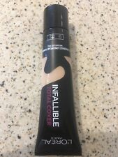 L'Oreal Infallible Total Cover Foundation - Light Sand 9 - 35g. NEW!
