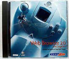 SEGA Net Web Browser 2.0 SEGA Dreamcast Video Game 2000 AT&T NIB NIP