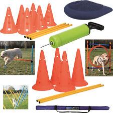 TRIXIE Dog Activity Agility Ring Hürde  Agility Slalom Hindernis Set