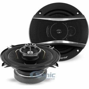 """Pioneer TS-A4670F 300W 5-1/4"""" TS-A Series 3-Way Car Speakers"""