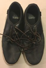 Vans Ludlow Boot Black Turtledove Leather Shoes Size 9.5 Vn‑0oky810