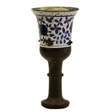 Persian Antique 19th CE Porcelain Hookah Head