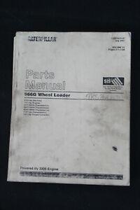 Genuine Caterpillar Parts Manual 966G Wheel Loader Volume II