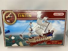 RARE Tintin Erector Set The Unicorn NIB