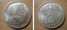 J367 5 Reichsmark Hindenburg m. H. 1938 J in f.STG  421130