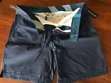 BURBERRY BRIT  The Indigoo Shorts(W MEDIUM) $ 245