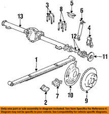 Dodge CHRYSLER OEM 91-99 Dakota Rear Brakes-Brake Drum 52009938AA