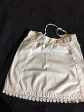 ANTIQUE cotton skirt  for FRENCH doll Jumeau Steiner Bru antique lace 6-7