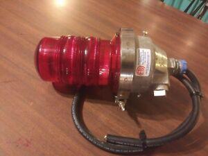 dialight 860-1R03, obstruction light, red, FAA light L-810, 12Volt DC