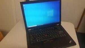 """Lenovo ThinkPad T410 14.1"""" WXGA+ i5-520M CPU 4GB RAM 320GB HDD DVDRW WIN 10 Pro"""