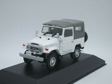 Toyota Land Cruiser BJ40 4x4 2-door SUV RHD 1980 white 1/43 Ebbro Japan