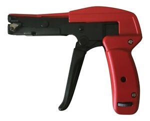 Cable Tie Gun Heavy Duty Tensioner & Cutter Tool for 2.5 - 12.7mm Nylon Zip Ties
