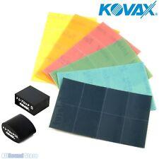 NEW - Kovax Tolecut Finish Repair System, Set of 6 Sheets w/ 2 Toleblock Blocks