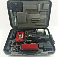 New ListingVintage Red Jvc Videomovie Gr-C1U Vhs C Video Camcorder w/Case & Accessories
