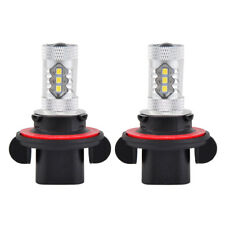 2x 9008 H13 For Polaris Outlaw 450 525 570 800 900 LED Headlight White Bulb Lamp