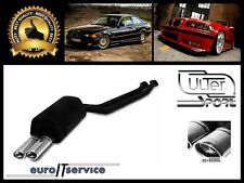 SILENCIEUX POT D'ECHAPPEMENT BMW 3 E36 325 24V 1990-1993 1994 1995 TIP 2x95x65
