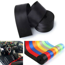 1x Adjustable 3.6M Safety Seat Belt Replacement Accessories For 3 Bolt Point Car
