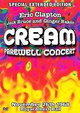 Cream - Farewell Concert (DVD, 2005, Extended Edition)