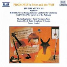 Prokofiev Peter And The Wolf Britten Young Person's Saint Saens Carnival Lenard