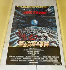 original METEOR one-sheet poster Sean Connery Natalie Wood Karl Malden