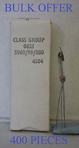 CV4504 MULLARD WIRE ENDED AUDIO DIODE 400 PIECES BULK OFFER NOS TUBE VALVE
