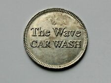 "Winnipeg Manitoba CANADA ""The Wave Car Wash"" Token/Coin - No Cash Value"