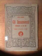 """""""Gli Innamorati"""" di Carlo Goldoni edizione 1928"""