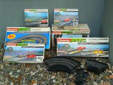 Set of 6 Carrera Servo 140 accessories for racing track + BONUS OVP MIB 1980's