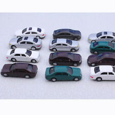 50pcs 1:75Scale OO Gauge Painted Model Car for Building Train Layout Diorama