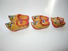 Wooden shoes ornament, clogs, miniature, Holland, Netherlands
