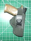"""Tagua UCH-1000 RH Black Suede Leather Thumb Break IWB Holster for S&W 4.25"""" M&P"""