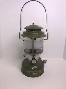 Vintage 1973 Sears Camp Lantern Model 72325 Dated 3-73
