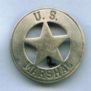 US Marshal Stern Sheriffstern Western Marshall Cowboy Museumsreplikat