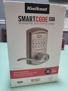 Kwikset SmartCode 917 Keypad Keyless Entry Electronic Lever Deadbolt Smartkey