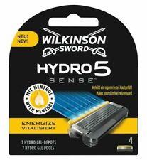 Wilkinson Sword Hydro 5 Sense Energize Lame de Rasoir pour Homme (Pack de 4)