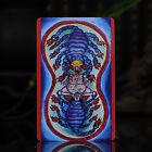 Tibet+Tibetan+Buddhism+painting+Amulet+thangka+Angry+lotus+Iron+scorpion+wheel