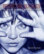 Psychology : The Science of Person, Mind, and Brain by Daniel Cervone (2015, Har