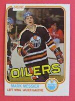 1981-82 OPC O-Pee-Chee Mark Messier #118, 2nd Year Edmonton Oilers, ExMt+